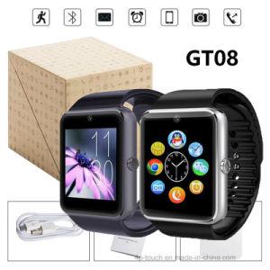 La pantalla táctil Bluetooth Smart regalo reloj con G-Sensor (GT08)