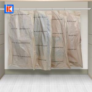 중국 제조자 LDPE 주문 인쇄 한 벌 덮개 롤 여행용 양복 커버