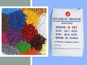 Het Dioxyde van het Titanium van Anatase A101 dat voor Masterbatch wordt gebruikt