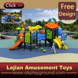 Parque infantil exterior para crianças de baixo custo slide Equipamento (X1251-4)