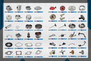 Et1500 Et950를 위한 가솔린 Engine/Generator Spare Parts (CRANKSHAFT/HIGH VOLTAGE SET/GASKET SET/CAPACITOR/IGNITION COIL/STARTER reCOIL/ROCKER ARM 등등)