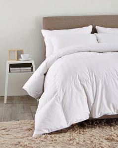 Fornecimento de algodão Listra Puredown Consolador Shell Recheio branco 75% Pato Branco estabelece Rei/Cal Rei
