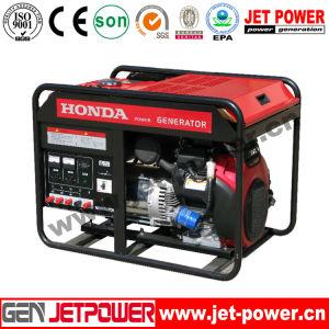 15HP de Generator van de Benzine van het Gebruik van het Huis van de motor 7kw met de Wielen van het Handvat