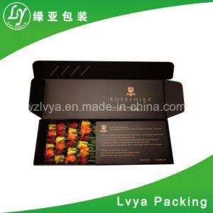 Het milieu Duidelijke Aangepaste Vakje van de Verpakking van het Document van het Karton van de Pizza Bruine Verpakkende