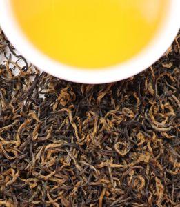 Tè nero della Cina Keemun con un sapore chiaro di Toasty