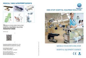 Controlada por la cabeza multiuso Mesa Quirúrgica (modelo 3008D ECOH30).