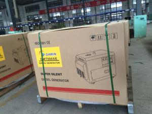 Diesel van het Gebruik van het huis Draagbare Generator met het AutoSysteem van de Overdracht