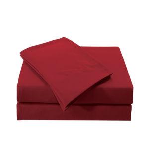1800 Hilos de microfibra liso Conjunto de hojas/Microfibra Ropa de cama