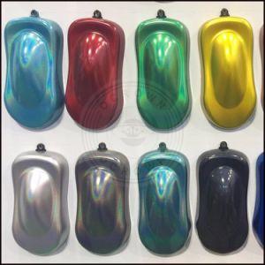 Car PaintのためのクロムMirror PowderレーザーSilver Holographic Pigment
