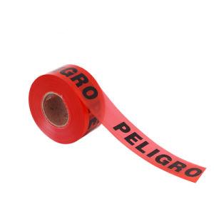 De douane Afgedrukte PE Band van de Waarschuwing van het Gevaar/de Plastic Barricade Banden/HDPE Band van de Waarschuwing