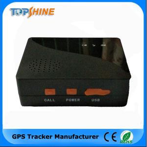 Persoonlijke GPS MiniSos van de Drijver Bidirectionele Mededeling 2000 mAh