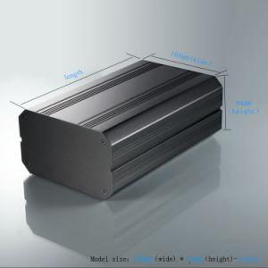Whl 160*94*200 mm 관례 던지기는 산업 전자 알루미늄 상자 내밀었다
