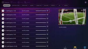 1年IPTVのアラビア4K IPTVボックススポーツチャネル