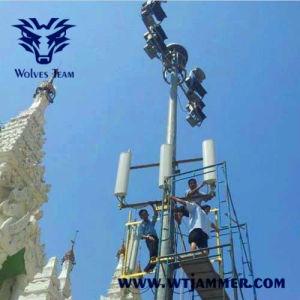 CDMA GSM 3G 4G WiFi personalizar la frecuencia VHF UHF Jammer Teléfono móvil