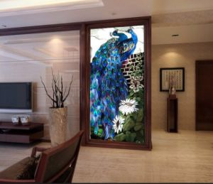 壁現代デザインパターンステンドグラスのモザイク