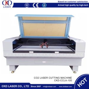 100W de corte láser de CO2 CNC para Cuero Papel Madera tela acrílico