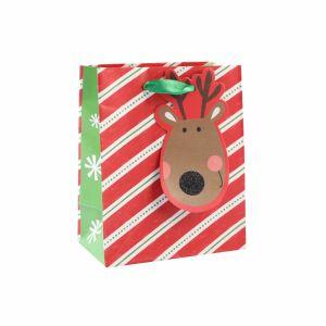 크리스마스 귀여운 새끼 고양이 종이 봉지, 주문 종이 봉지
