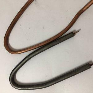 Placage de cuivre Tube de chauffage pour fer à repasser électrique