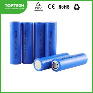 Íon de Lítio Recarregável cilíndrico 3.7V 18650/ Li-ion / Bateria de lítio para ferramentas eléctricas