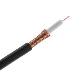 Factory RG59 RG59+2c RG6+2c RG11 Cable coaxial RG6 TV por Cable Coaxial