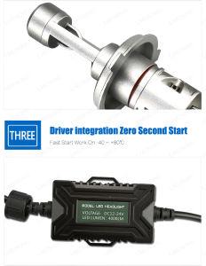 Lmusonu 5s車のヘッドライトLED H7 35W 4000lmはIP67銅ベルトの熱放散を防水する
