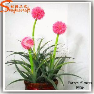 Meio de flores artificiais de alta qualidade Bonsai Tree