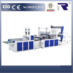 Máquina para Fabricar Bolsas de Camiseta Automática Series de DFQ (4 Capas)