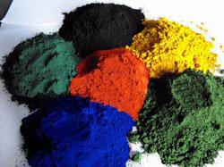 Blauw van het Oxyde van het ijzer het Rode Zwarte Gele Groene