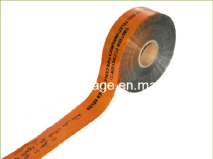 Security Barrier Detectable Caution Tape for Sale