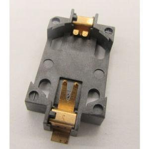 Pila de botón Estilo de dispositivo de montaje en superficie de soporte de batería conectores de la batería