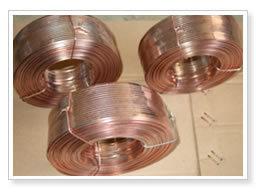 Arame revestido de bronze em 0.6-2.5mm para unhas de papelão