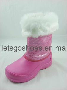 Adorável EVA PVC impermeável botas de neve (21JK11015)