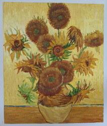 Olieverfschilderij van de reproductie (het Bloemen)