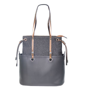 Genuine Leather Tote Senhora Mala nobre e elegante mala à noite