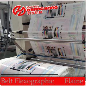 De alta velocidad 4 colores de Cine Flexo máquina de impresión (CR884)