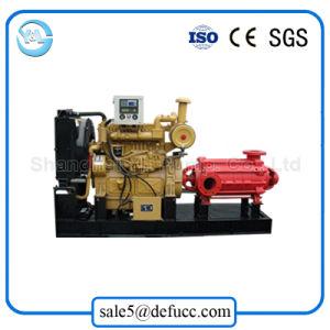 Pompa circolatore fluida ad alta pressione impermeabile a più stadi con il motore diesel