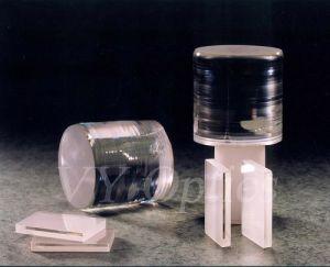 Optische schwarze Oblate Litao3 Durchmesser-4  für optische Nachrichtenübertragung