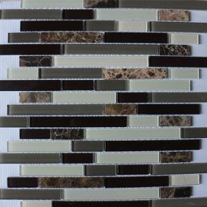 Venda a quente estilo Classcial Vidro e mosaico de pedra