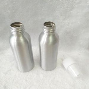 Produtos cosméticos 100ml vaso de perfume de alumínio com pulverizador