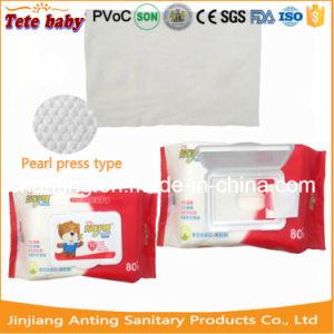 Skincare nasse Wischer, einfache Griff-Reinigung-Baby-Wischer, China-Baby-Produkt-Hersteller