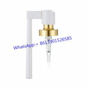 Versão de cravar Pulverizador Oral tubo pulverizador nasal pulverizador/Bomba Farmacêutica