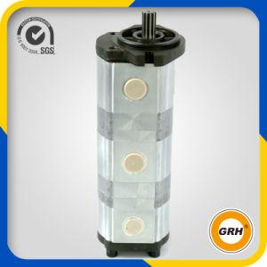 (CBZ2063/2040/2040) Bomba de engranaje triple hidráulica para el excavador del combustible