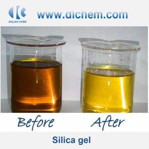 Décolorant de gel de silice sable pour le raffinage du pétrole