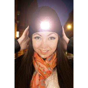 Акрил вязки Beanie шляпы светодиодный индикатор Beanie
