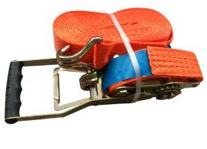 El trinquete correa de amarre de poliéster de correa de amarre de carga