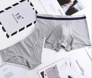 La biancheria intima di Men&Women imposta i vestiti dei pugili e delle mutandine del cotone degli amanti