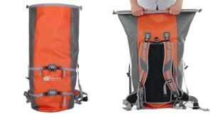 Водонепроницаемый военных складные нейлоновые сухой сумку рюкзак с покрытием из термопластичного полиуретана