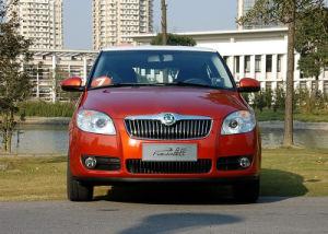 Rejilla de coche para el Skoda Fabia a partir de 2007 (5JD853668B)