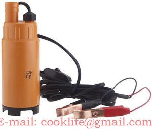 Dieselpumper/Pumper Vandpumper/Dykpumper/Braendstof - 12/24V