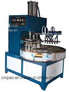 回転盤様式高周波ペット溶接および打抜き機